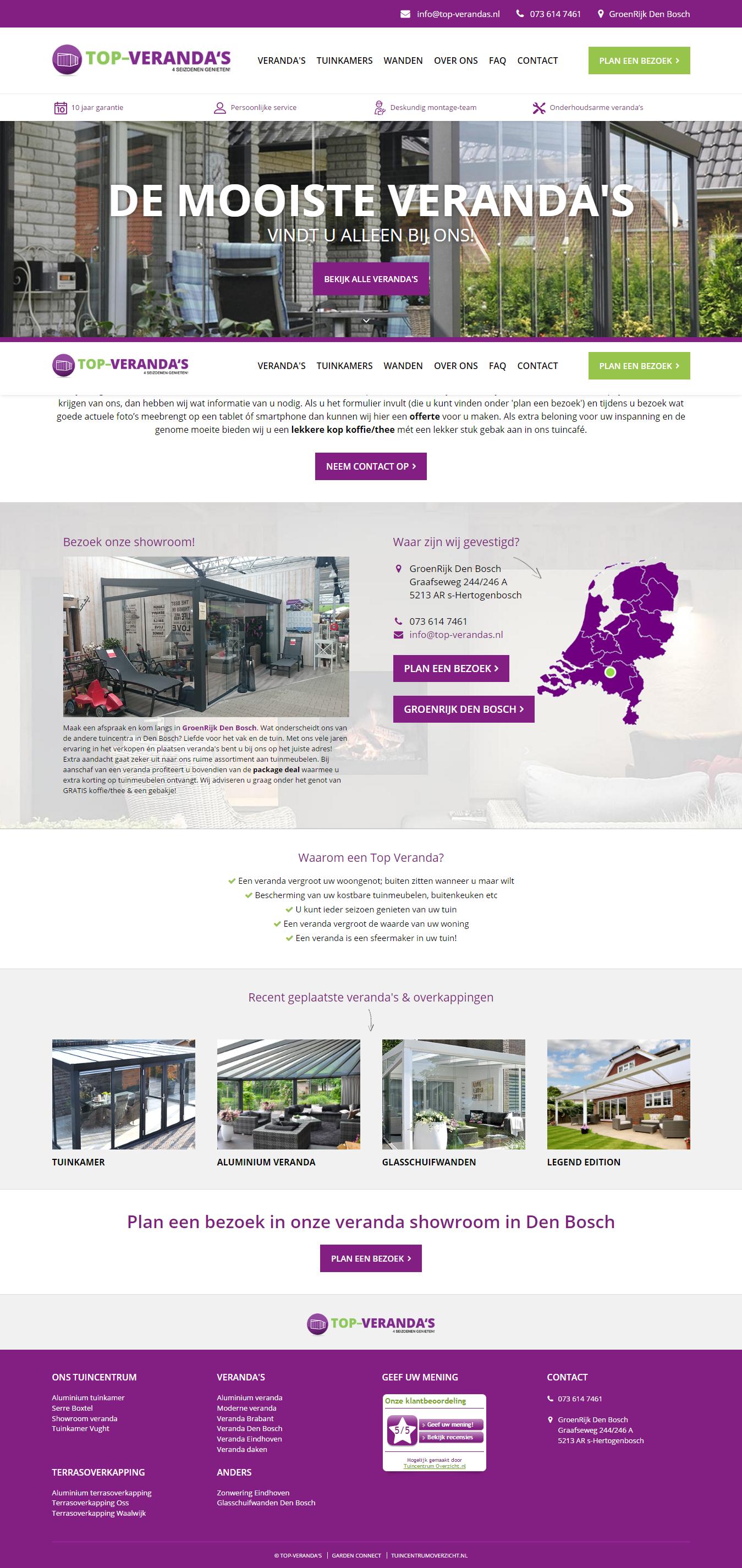 Terrasoverkapping kopen Den Bosch