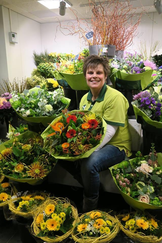 In onze bloemenwinkel nabij Drunen is het altijd gezellig!