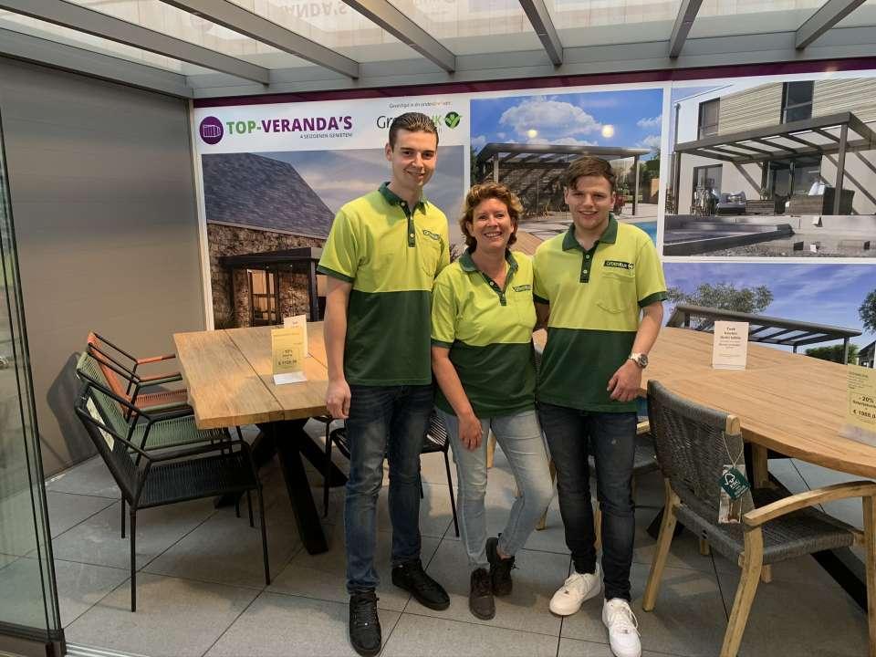 Veranda team!   GroenRijk Den Bosch   Top Veranda's