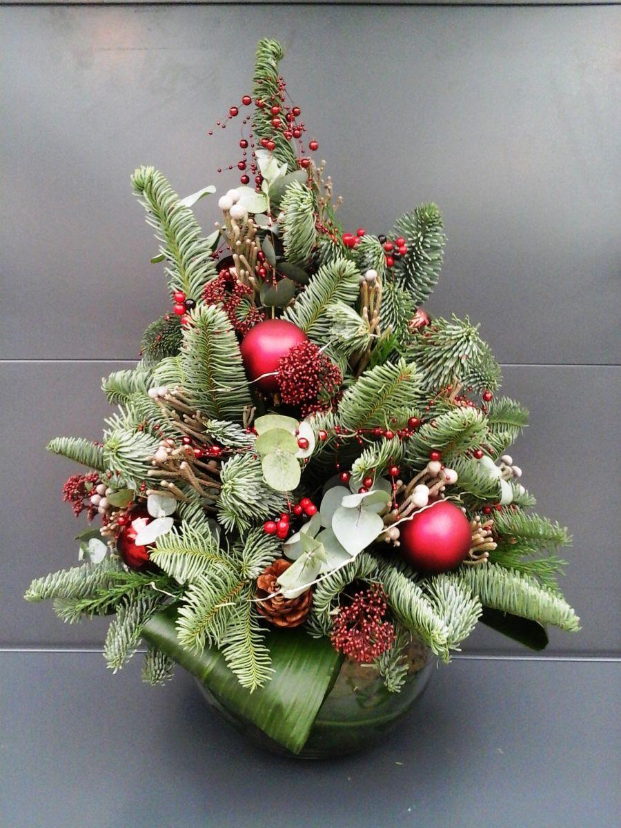 Favoriete Workshop Kerst Bloemschikken #BZX99 - AgnesWaMu @TC33
