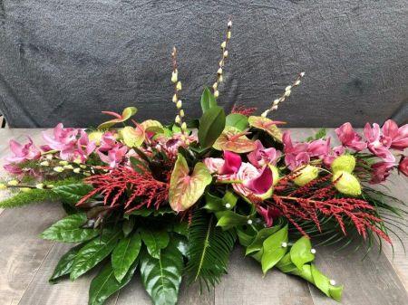 bloemen bloemist rouwboeket