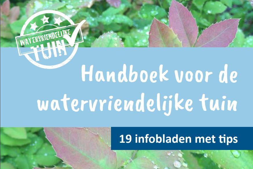 handboek de watervriendelijke tuin