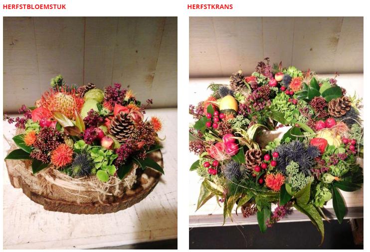 Bedwelming Workshop Herfst - Activiteiten - Tuincentrum GroenRijk Den Bosch &FM56