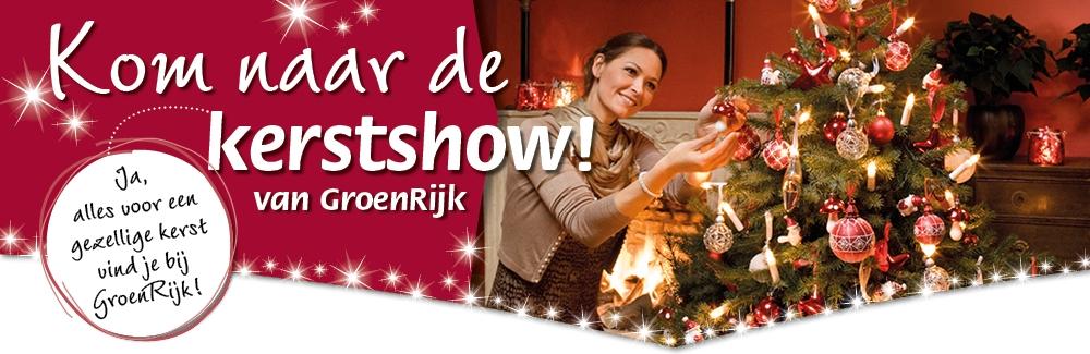 Kom naar de kerstshow!